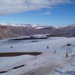 Uma das Pistas de Ski/snow