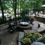 The Fire Pit and Terrace