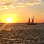 Sun set on the Seabird