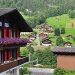 Valley Hostel und die Ansicht