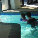 indoor to outdoor pool