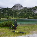 Alpine riding Sebensee
