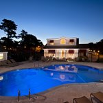 Night Shot Outdoor Pool