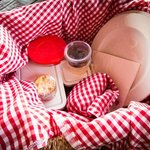 Lunch picnic basket