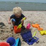 Fun on the clean beach!