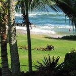 View toward the beach.