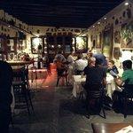 lovely atmosphere at the casona de yaiza restaurant