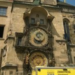 Astronomical clock, worth seeing but only just