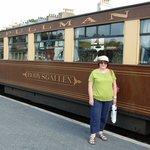 First class carriage to Caernarfon