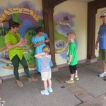 Meeting Wendy and Peter Pan