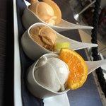 Melon caramel sale et noix de coco