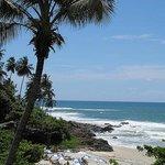Tiririca beach as seen from Pousada Tanara, Itacare, Bahia, Brazil