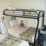 Bedroom - see packNplay in corner