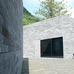 Das Forschungszentrum hat eine bemerkenswerte moderne Architektur