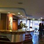 Recepção do hotel Rafain