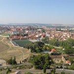 vista de Palencia desde el cristo del otero