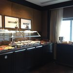 Complimentary breakfast for gold floor guests