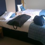 Single room for 1 - £52,  big enough for 2