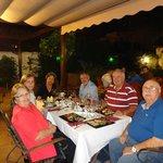 Dinning in Flamenco Jardines Zoraya, Fernandes Family