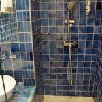 Salle de bain - sans rideau de douche !