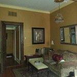 """Sitting Area"" and Door to Williams Suite"