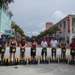 Great fun on our Segways