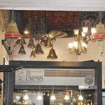 interior do restaurante las campanas