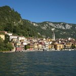 City of Varenna from a boat I rented