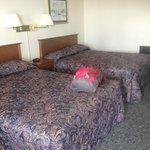 Motel bedroom
