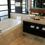 Master Suite Soaker Tub and Sinks