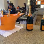 Very overpriced veuve