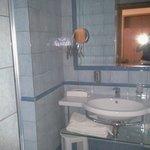 il bagno era perfetto.....
