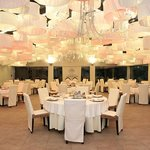 Palau de vidre, carpa para bodas