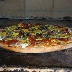 Pizza on the Bricks