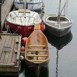 a dugout canoe!