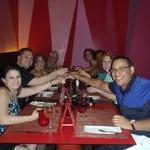 One Happy Bunch at Fuego Restaurant