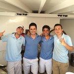 De trevliga killarna i poolbaren: Polat, Ahmet, Suleyman & Tarik