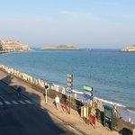 Vue sur la baie de St Malo