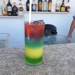 Awesome drink made by Cruz