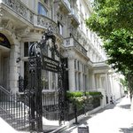 Outside Grand Royale London Hyde Park Hotel