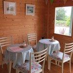 Inside tea room