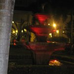 Hotel fountain night, one of many