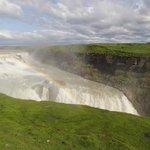 le cascate con l'arcobaleno