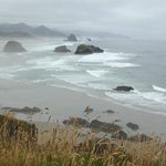 early morning at Ecola State Park