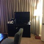 tv area on suite