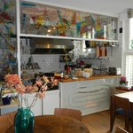 Kitchen-dinning area-