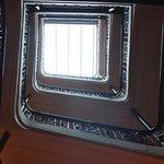 Very cool interior stairway