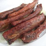 Roast Red Pork ribs