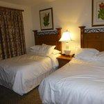 La deuxieme chambre avec deux grands lits