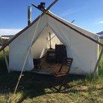 Amazing tent!